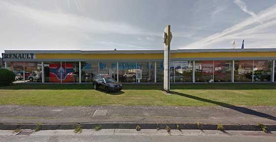 Renault Tournai SA référence alarme de clerck