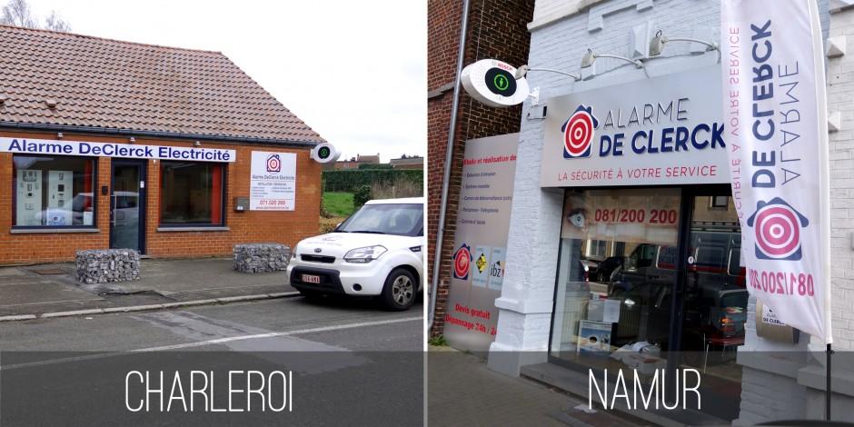 Installateur d'alarmes à Charleroi et à Namur