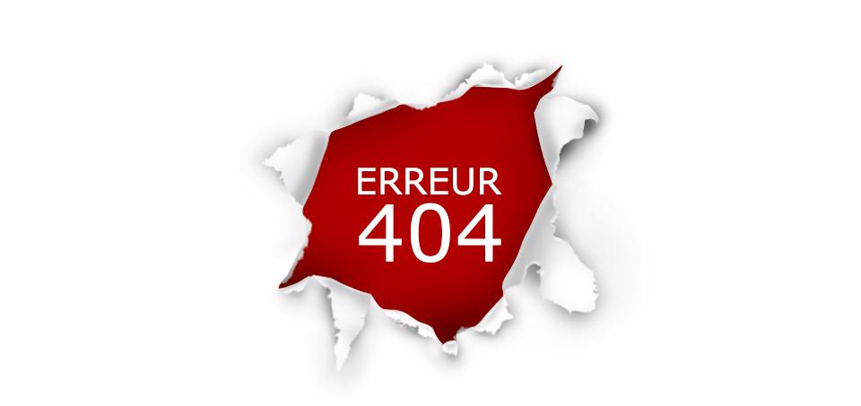 Erreur 404 alarme de clerck